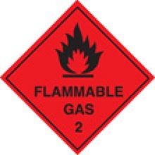 Flammable Gas 2 - SAV - 300x300mm SN1220