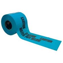 Caution Water Pipe Below Polythene Tape 365 Metres x 150mm TA0514