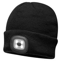 Beanie LED Head Light USB Rechargeable TH2090