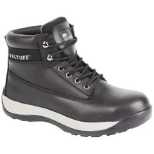 CLEARANCE SALE Black Safety Boot Suitable for light work SBP SRA VF0627