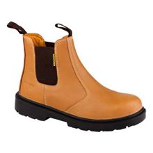 VELTUFF Trail Brown Safety Chelsea Boot S3 or S1P SRC VF0631