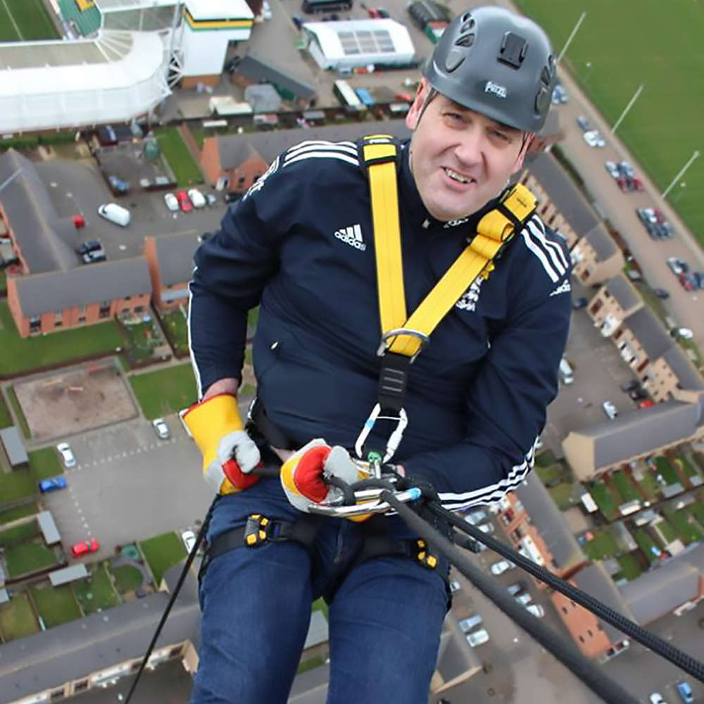 Reaching new heights for charity