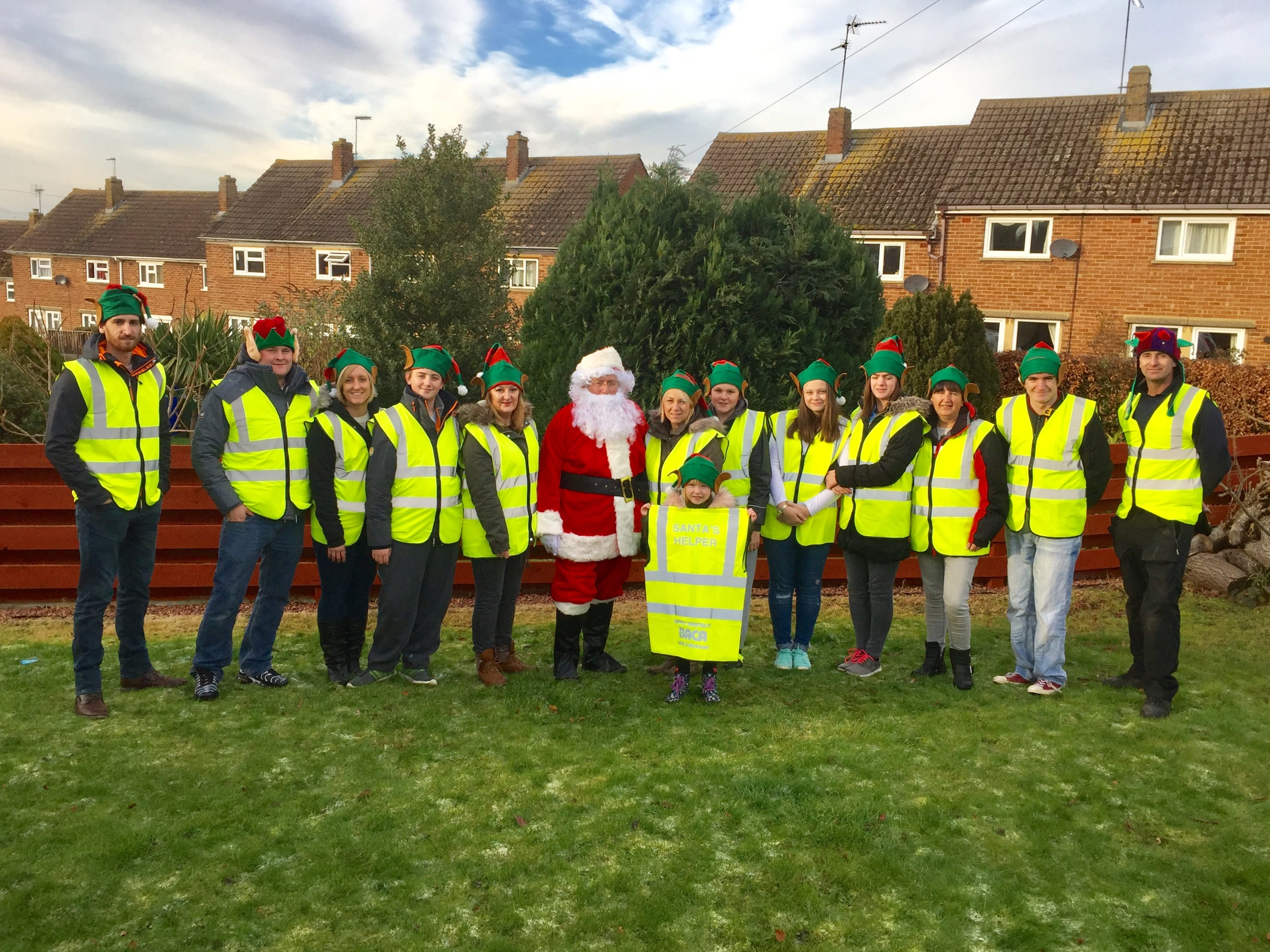 BACA Donation for Santa's Hi-Vis Helpers